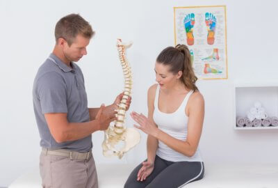 A herniated disc may be causing your back pain
